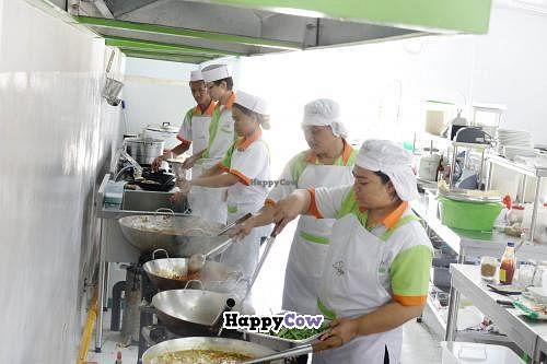 "Photo of O-Jamur  by <a href=""/members/profile/HendroHadi"">HendroHadi</a> <br/>hygienic kitchen staff <br/> August 24, 2013  - <a href='/contact/abuse/image/40314/53703'>Report</a>"