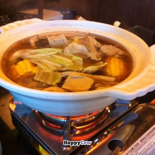 """Photo of Zhou Ye Cottage  by <a href=""""/members/profile/chazyvr"""">chazyvr</a> <br/>Hot pot <br/> July 27, 2013  - <a href='/contact/abuse/image/40317/52304'>Report</a>"""