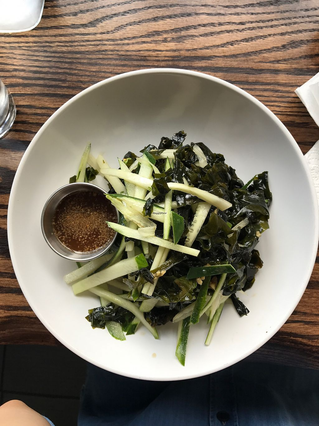 """Photo of Loving Hut - Brooklyn  by <a href=""""/members/profile/Marthadownunder"""">Marthadownunder</a> <br/>Seaweed and Cucumber salad <br/> July 2, 2017  - <a href='/contact/abuse/image/40374/276122'>Report</a>"""