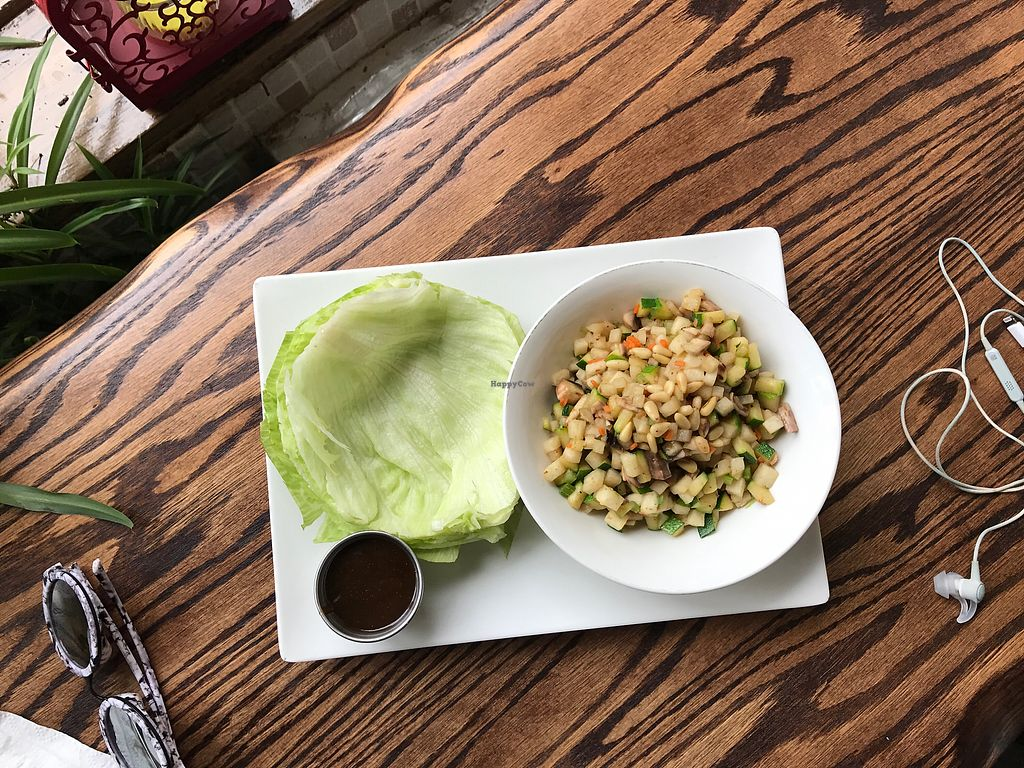 """Photo of Loving Hut - Brooklyn  by <a href=""""/members/profile/Marthadownunder"""">Marthadownunder</a> <br/>Lettuce wraps (generous portions!) <br/> July 2, 2017  - <a href='/contact/abuse/image/40374/276123'>Report</a>"""
