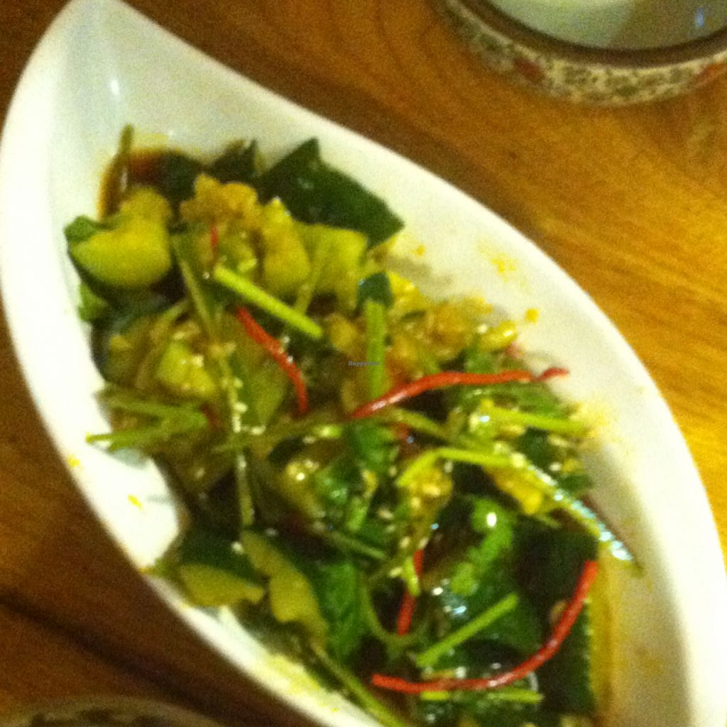 """Photo of Zizhulin  by <a href=""""/members/profile/BaDookie%21%21"""">BaDookie!!</a> <br/>Spicy sesame cucumber salad <br/> August 29, 2015  - <a href='/contact/abuse/image/40396/115619'>Report</a>"""