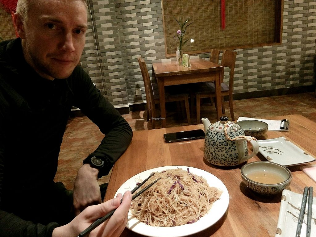 """Photo of Zizhulin  by <a href=""""/members/profile/Nuria%26Sam"""">Nuria&Sam</a> <br/>big plate of noodle with cabbage and no even soy sauce <br/> February 11, 2018  - <a href='/contact/abuse/image/40396/357863'>Report</a>"""