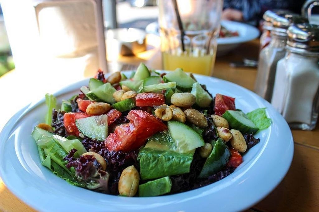 """Photo of The Green Bean Coffee Shop  by <a href=""""/members/profile/SueClesh"""">SueClesh</a> <br/>salad with peanut dressing <br/> September 25, 2016  - <a href='/contact/abuse/image/40399/177895'>Report</a>"""