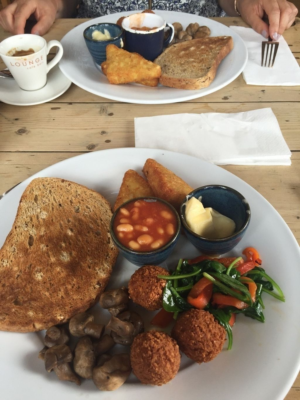 """Photo of Loungers - Santo Lounge  by <a href=""""/members/profile/Tiffysian"""">Tiffysian</a> <br/>Vegan breakfast at Santo Lounge <br/> August 18, 2016  - <a href='/contact/abuse/image/40426/169879'>Report</a>"""