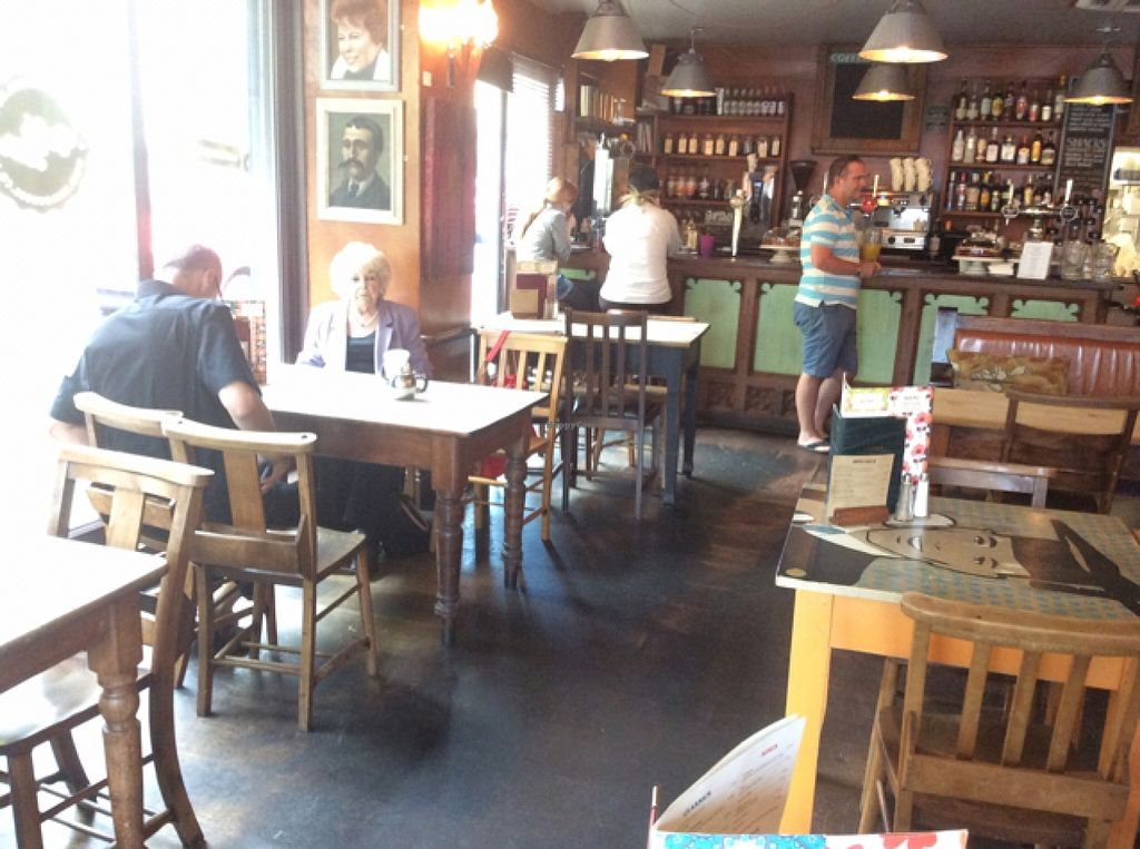 """Photo of Loungers - Porto Lounge  by <a href=""""/members/profile/AndreaD"""">AndreaD</a> <br/>fishponds road. good vegan menu  <br/> August 28, 2015  - <a href='/contact/abuse/image/40441/115476'>Report</a>"""