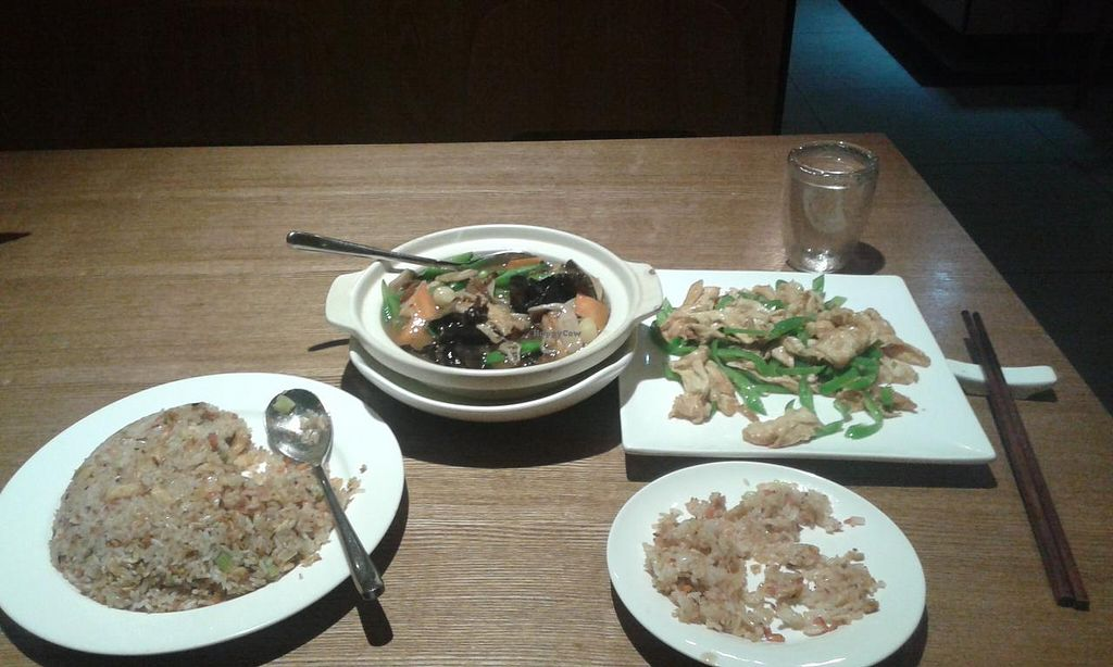 """Photo of Yi Tian Yi Su - Zhujiangxincheng  by <a href=""""/members/profile/Darteous"""">Darteous</a> <br/>I'm a rather big eater, for some people this is enough for 2. I had what's shown here and a soup for 125 rmb <br/> February 23, 2015  - <a href='/contact/abuse/image/40454/93890'>Report</a>"""