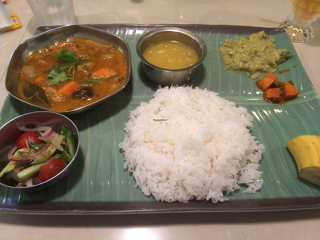 "Photo of Asian Restaurant CHOWK  by <a href=""/members/profile/HollyRoseRobinson"">HollyRoseRobinson</a> <br/>vegan set menu <br/> August 2, 2017  - <a href='/contact/abuse/image/40457/287862'>Report</a>"