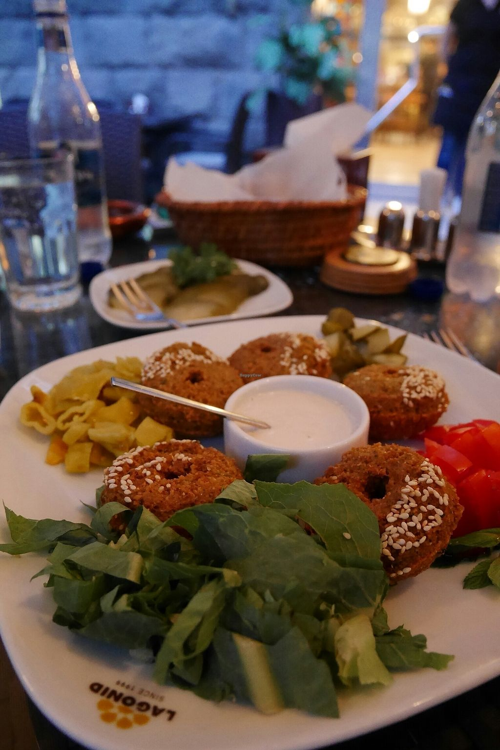 """Photo of Lagonid  by <a href=""""/members/profile/CaseyHapponen"""">CaseyHapponen</a> <br/>Falafel plate <br/> October 1, 2017  - <a href='/contact/abuse/image/40459/310496'>Report</a>"""