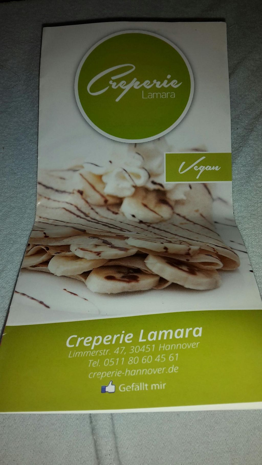 "Photo of Creperie Lamara  by <a href=""/members/profile/PatrickVerde"">PatrickVerde</a> <br/>Vegan menu <br/> June 1, 2015  - <a href='/contact/abuse/image/40490/104402'>Report</a>"