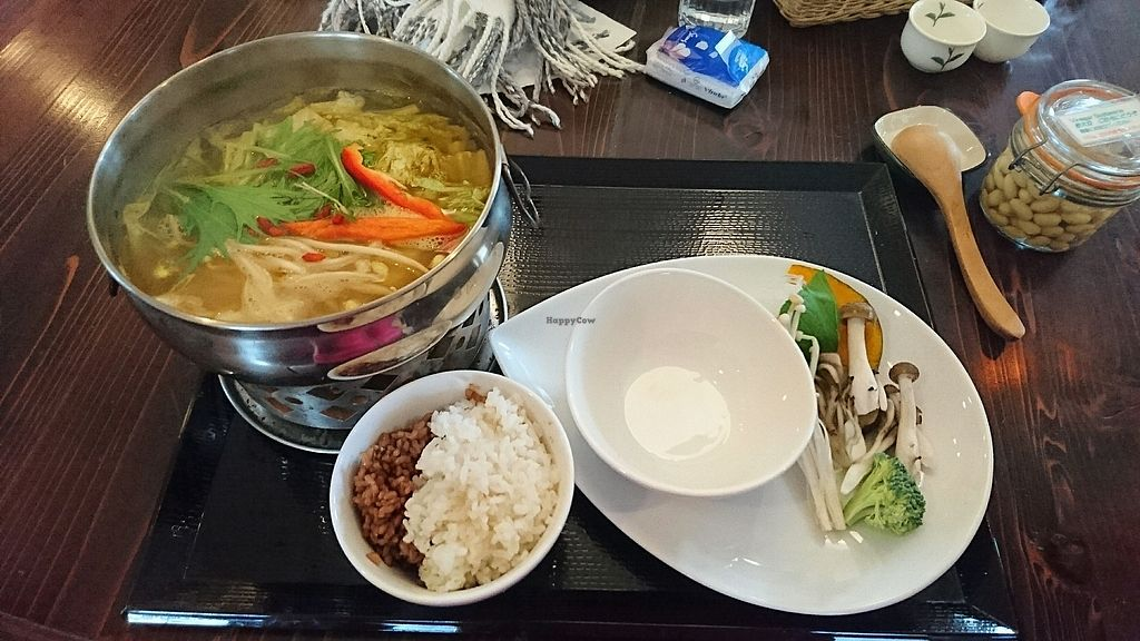"Photo of Shojin Cafe Foi - Shintouri  by <a href=""/members/profile/joycetchk"">joycetchk</a> <br/>curry hot pot <br/> November 20, 2017  - <a href='/contact/abuse/image/40555/327606'>Report</a>"