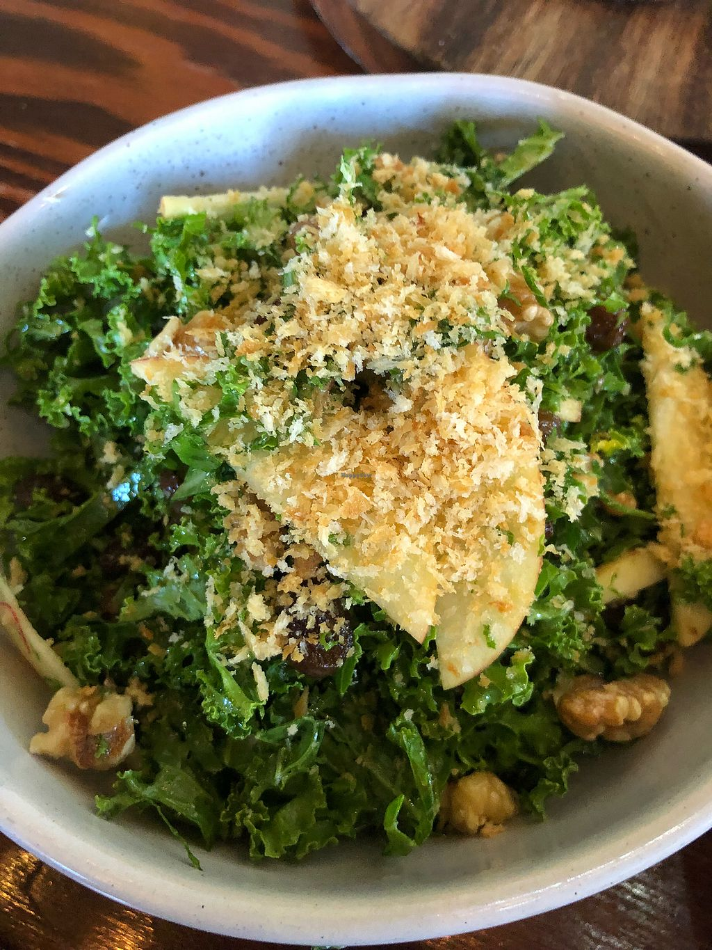 """Photo of Francesca's Italian Kitchen  by <a href=""""/members/profile/ben_eitel"""">ben_eitel</a> <br/>Kale salad (minus the Parmesan) <br/> March 17, 2018  - <a href='/contact/abuse/image/40558/371714'>Report</a>"""