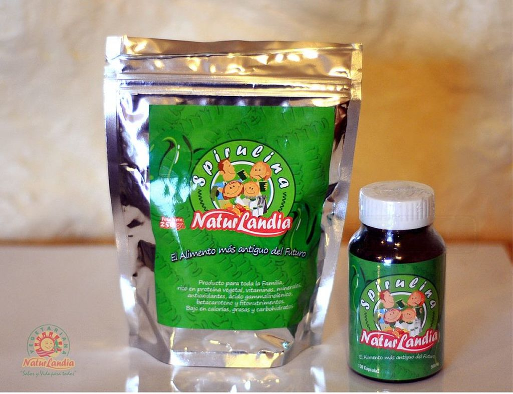 """Photo of NaturLandia  by <a href=""""/members/profile/RominaGP"""">RominaGP</a> <br/>Spirulina Naturlandia <br/> July 3, 2016  - <a href='/contact/abuse/image/40576/157456'>Report</a>"""