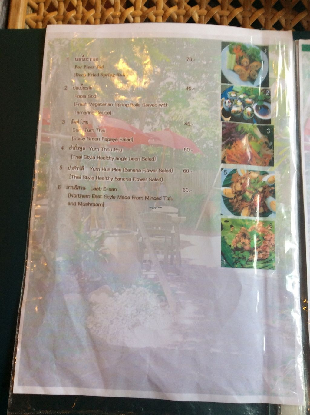 """Photo of Fuang Vegetarian  by <a href=""""/members/profile/samesamebutvegan"""">samesamebutvegan</a> <br/>salads and starters <br/> January 26, 2016  - <a href='/contact/abuse/image/40611/133822'>Report</a>"""
