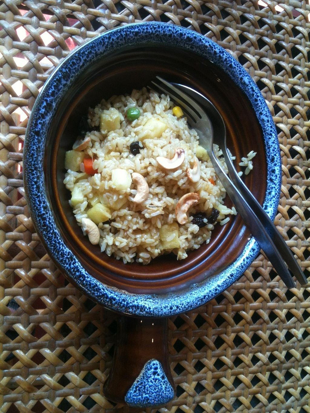 """Photo of Fuang Vegetarian  by <a href=""""/members/profile/CaluCalu"""">CaluCalu</a> <br/>Baked Rice with pineapple 60 baht <br/> February 3, 2016  - <a href='/contact/abuse/image/40611/134823'>Report</a>"""