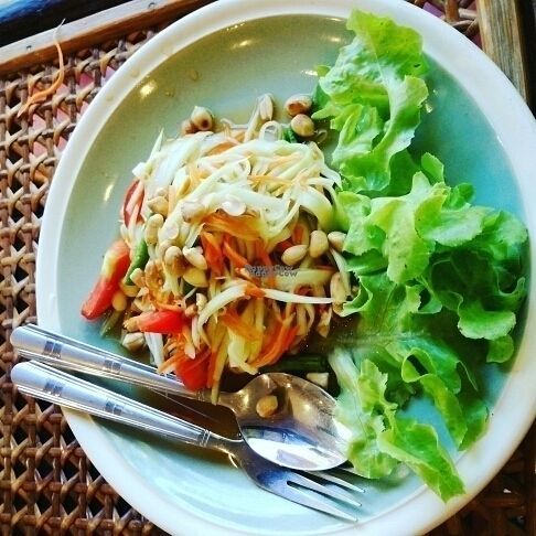 """Photo of Fuang Vegetarian  by <a href=""""/members/profile/Halkamo"""">Halkamo</a> <br/>somtam was delicious! <br/> September 29, 2016  - <a href='/contact/abuse/image/40611/178518'>Report</a>"""