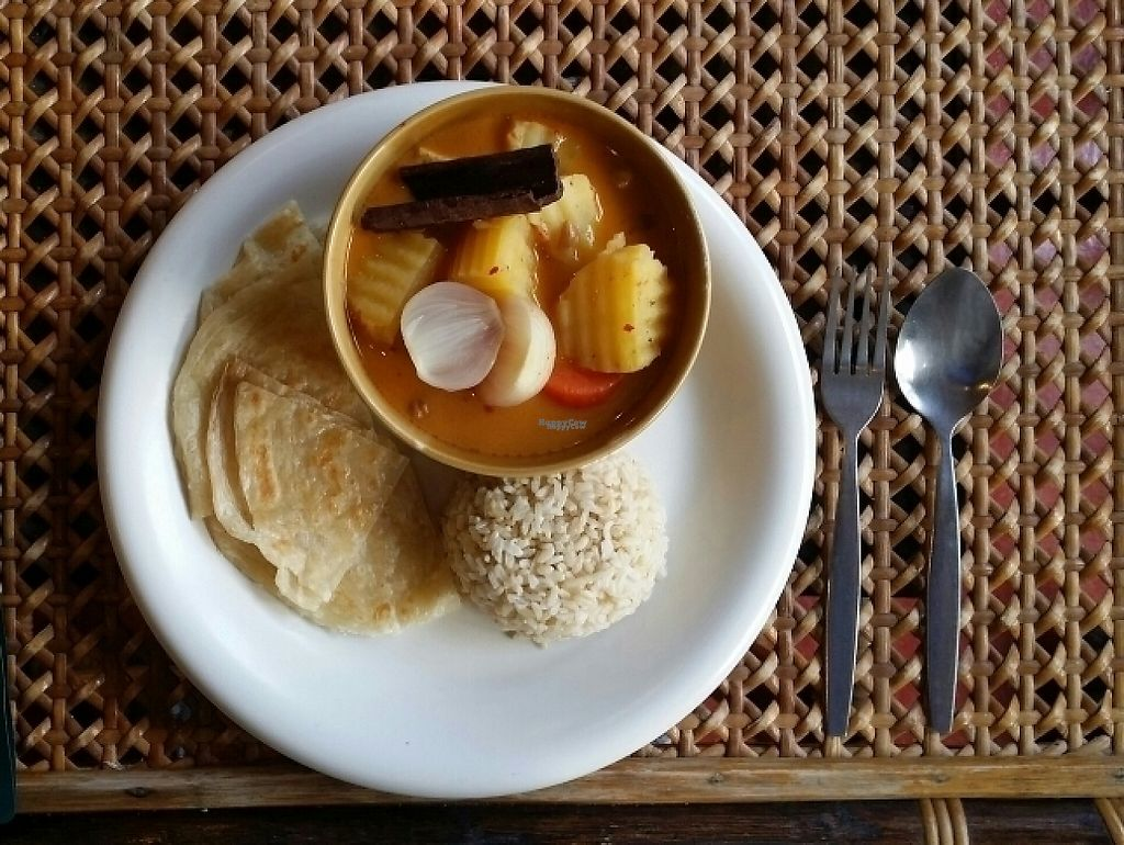"""Photo of Fuang Vegetarian  by <a href=""""/members/profile/Mike%20Munsie"""">Mike Munsie</a> <br/>massaman curry with rice <br/> March 29, 2017  - <a href='/contact/abuse/image/40611/242288'>Report</a>"""