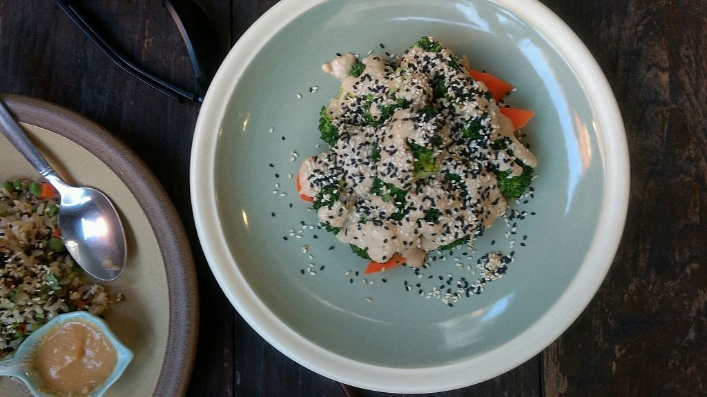 """Photo of Fuang Vegetarian  by <a href=""""/members/profile/JananiEswar"""">JananiEswar</a> <br/>steamed broccoli and carrot <br/> December 14, 2017  - <a href='/contact/abuse/image/40611/335435'>Report</a>"""