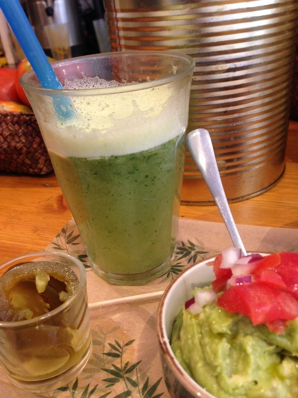 """Photo of Quinoa Bar Vegetaria  by <a href=""""/members/profile/PeytonCarmichael"""">PeytonCarmichael</a> <br/>Ginger-mint lemonade <br/> May 1, 2017  - <a href='/contact/abuse/image/40631/254486'>Report</a>"""