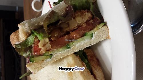 "Photo of Sasaya Cafe  by <a href=""/members/profile/JayBeeGeeBee"">JayBeeGeeBee</a> <br/>Tempeh katsu sando.  <br/> November 19, 2013  - <a href='/contact/abuse/image/40643/58751'>Report</a>"