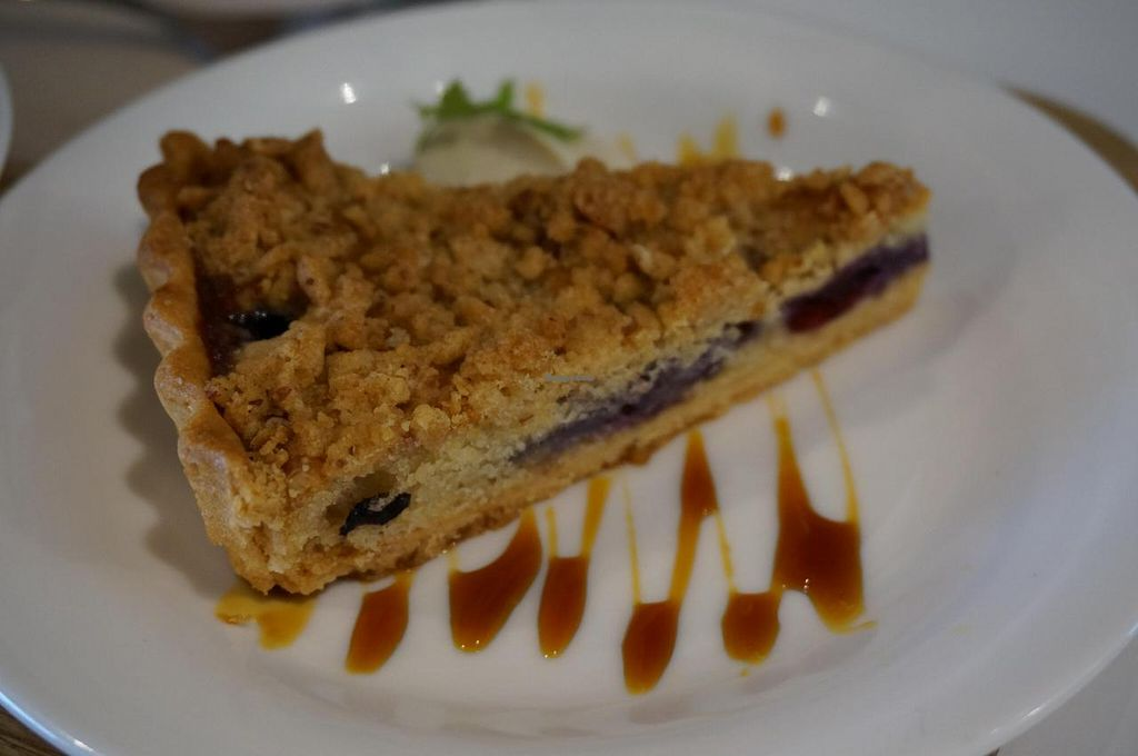 """Photo of Sasaya Cafe  by <a href=""""/members/profile/Ricardo"""">Ricardo</a> <br/>Blueberry Tart.  <br/> May 11, 2014  - <a href='/contact/abuse/image/40643/69797'>Report</a>"""