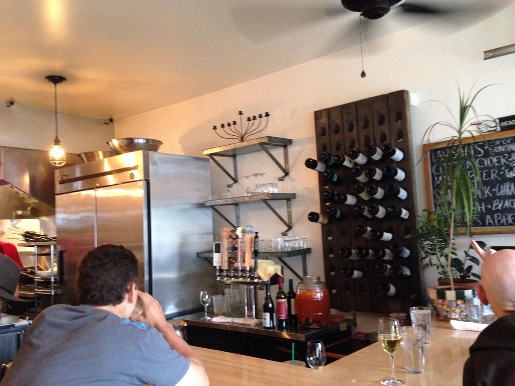 """Photo of Revolution Kitchen  by <a href=""""/members/profile/cookiem"""">cookiem</a> <br/>Bar area <br/> June 1, 2015  - <a href='/contact/abuse/image/40647/104428'>Report</a>"""