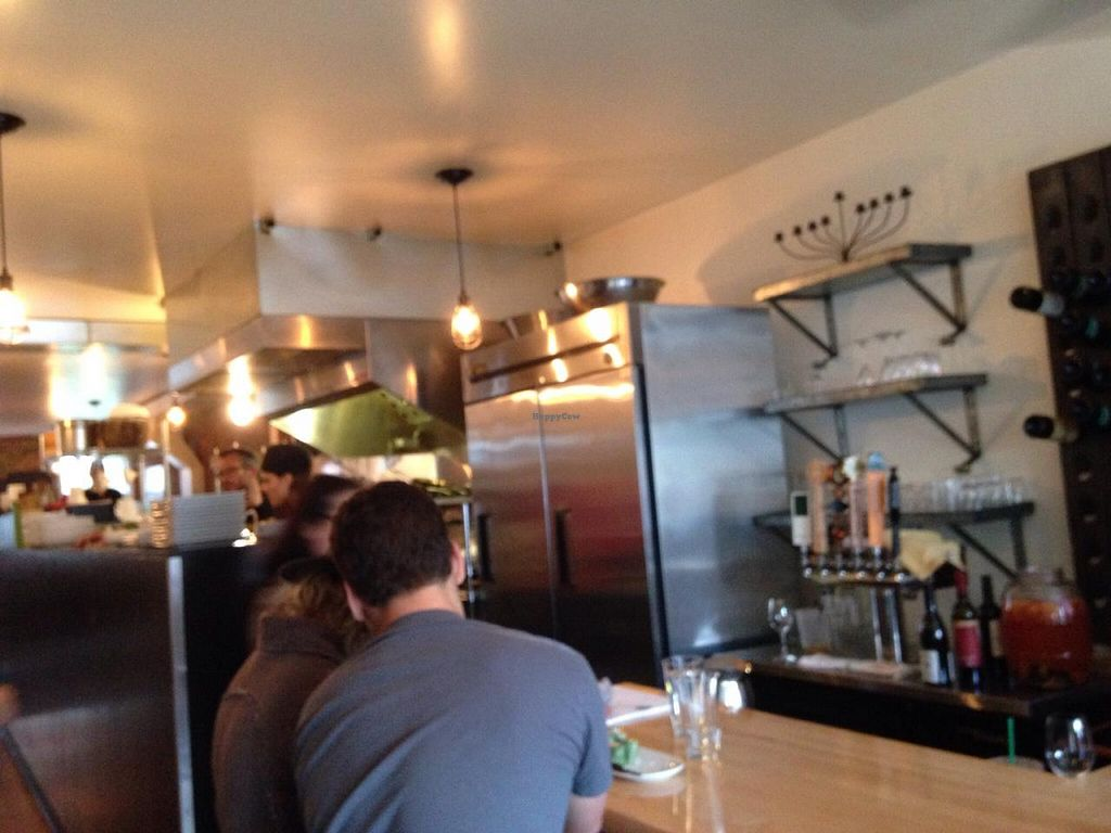 """Photo of Revolution Kitchen  by <a href=""""/members/profile/cookiem"""">cookiem</a> <br/>Kitchen behind bar <br/> June 1, 2015  - <a href='/contact/abuse/image/40647/104429'>Report</a>"""