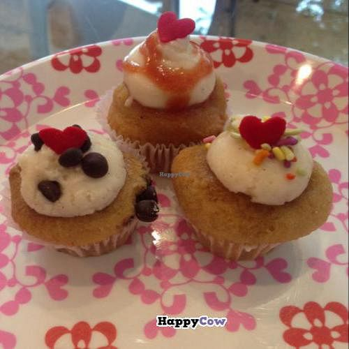 "Photo of Bunnie Cakes  by <a href=""/members/profile/Jeanettios"">Jeanettios</a> <br/>vegan gluten free cupcakes (chocolate chip, guava, & very vanilla) <br/> October 20, 2013  - <a href='/contact/abuse/image/40652/56944'>Report</a>"