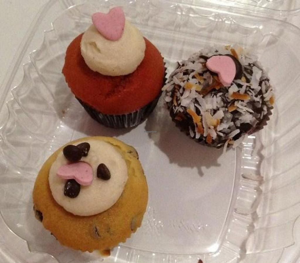 "Photo of Bunnie Cakes  by <a href=""/members/profile/Julie%20R"">Julie R</a> <br/>Yummy treats!  Pretty, vegan AND delicious! <br/> September 27, 2014  - <a href='/contact/abuse/image/40652/81385'>Report</a>"