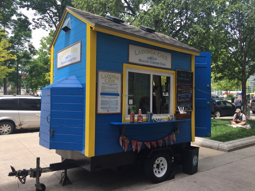 """Photo of CLOSED: Ladonia Cafe  by <a href=""""/members/profile/KashiTamang"""">KashiTamang</a> <br/>super cute mini cart!  <br/> July 13, 2016  - <a href='/contact/abuse/image/40664/159637'>Report</a>"""