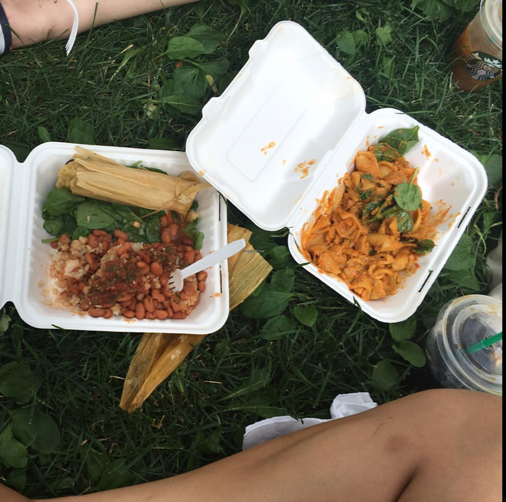 """Photo of CLOSED: Ladonia Cafe  by <a href=""""/members/profile/KashiTamang"""">KashiTamang</a> <br/>tamale plate and Mac for $13 only!  <br/> July 13, 2016  - <a href='/contact/abuse/image/40664/233747'>Report</a>"""