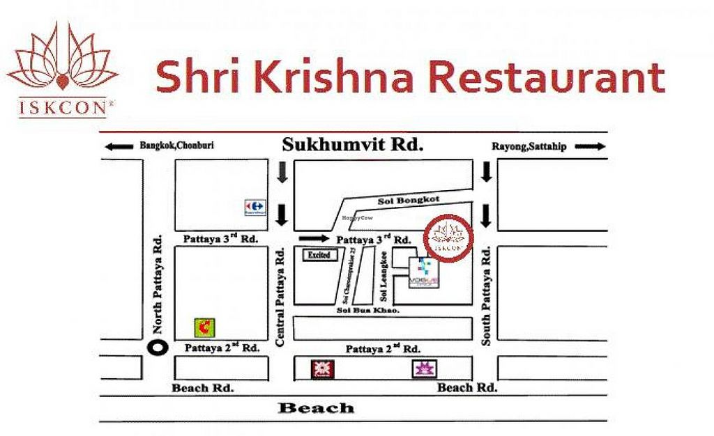 """Photo of CLOSED: Shri Krishna Restaurant  by <a href=""""/members/profile/Vegetarian%20in%20Pattay"""">Vegetarian in Pattay</a> <br/>It's on a third road, opposite Buffalo bar, 700m from Tonny's Gym. Please call 0886769968 for precise directions or visit krishnapattaya.com <br/> January 30, 2014  - <a href='/contact/abuse/image/40668/63391'>Report</a>"""