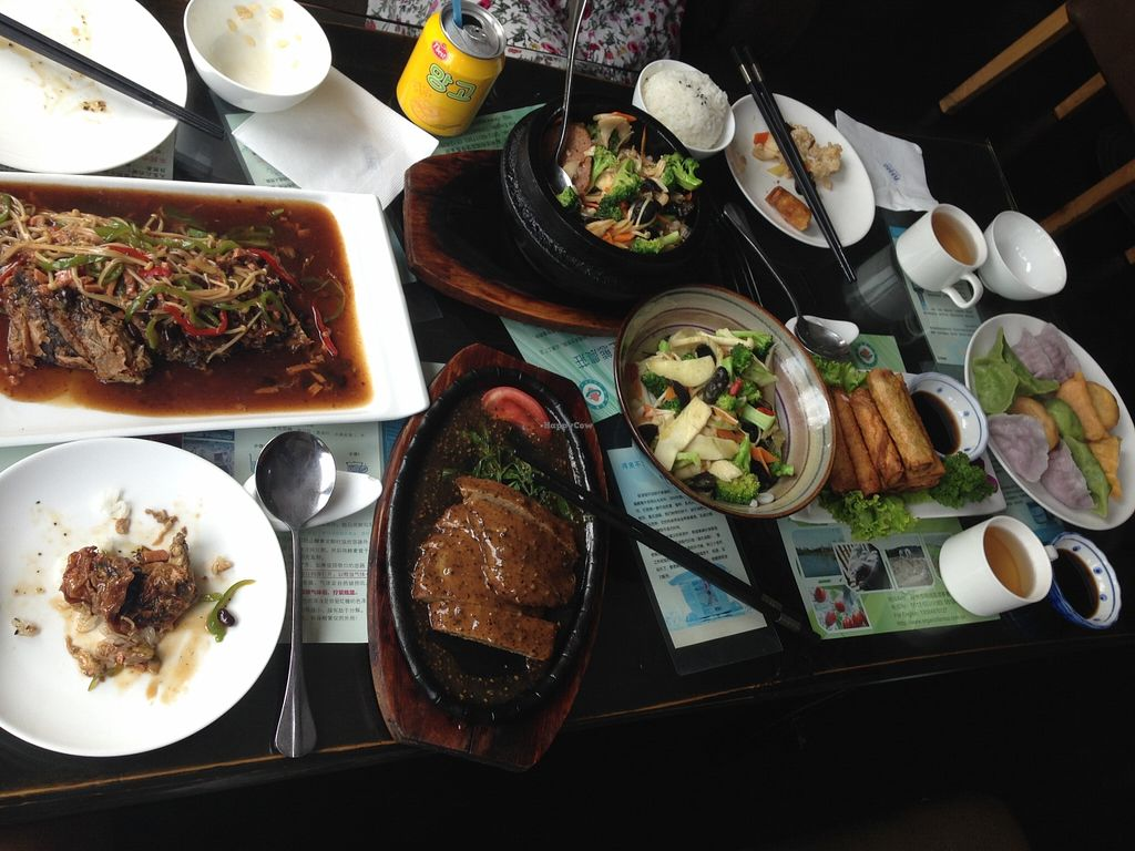 """Photo of Vegetarians Story Restaurant  by <a href=""""/members/profile/IraxMint"""">IraxMint</a> <br/>big portions at Vegetarian Story Restaurant <br/> September 16, 2015  - <a href='/contact/abuse/image/40697/117971'>Report</a>"""