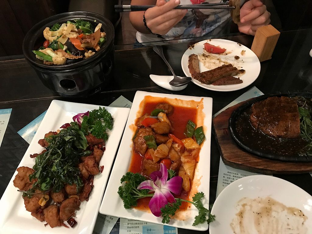 """Photo of Vegetarians Story Restaurant  by <a href=""""/members/profile/etylina"""">etylina</a> <br/>Yummy food <br/> October 25, 2017  - <a href='/contact/abuse/image/40697/318792'>Report</a>"""