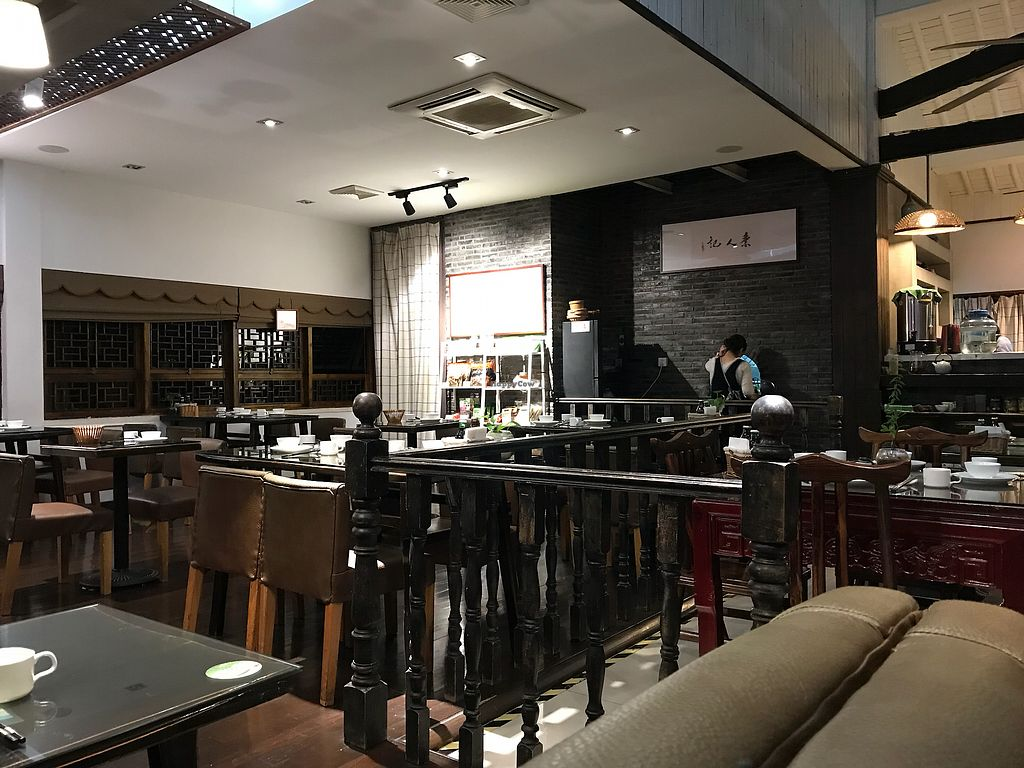 """Photo of Vegetarians Story Restaurant  by <a href=""""/members/profile/etylina"""">etylina</a> <br/>Restaurant inside <br/> October 25, 2017  - <a href='/contact/abuse/image/40697/318794'>Report</a>"""