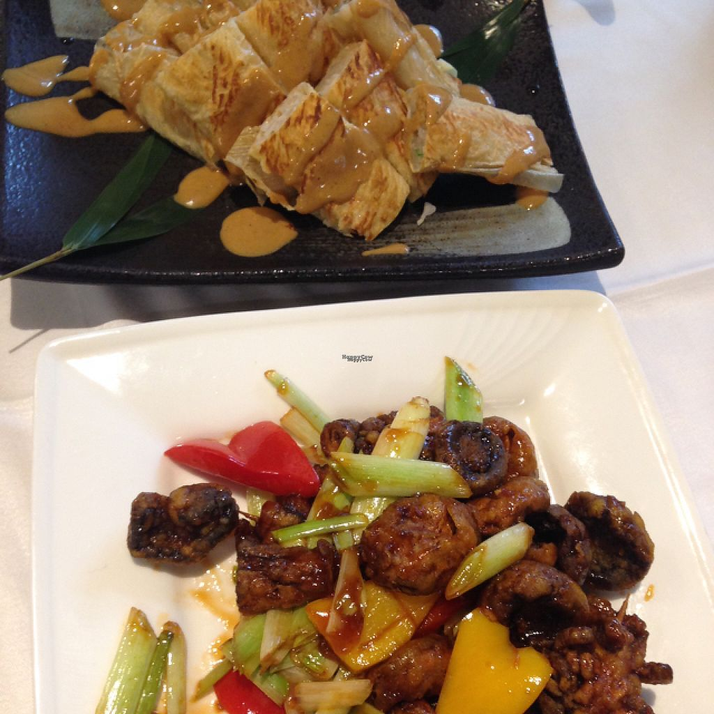 """Photo of Yang Shin  by <a href=""""/members/profile/bruixa86"""">bruixa86</a> <br/>red bean curs with sesame sauce + fried mushrooms <br/> February 24, 2017  - <a href='/contact/abuse/image/40730/229964'>Report</a>"""