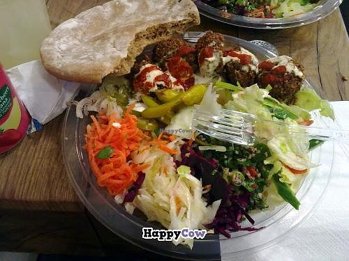 """Photo of Pilpel  by <a href=""""/members/profile/SplashWellyKid"""">SplashWellyKid</a> <br/>Pilpel Spitalfields - Falafel Meal <br/> August 11, 2013  - <a href='/contact/abuse/image/40739/53101'>Report</a>"""