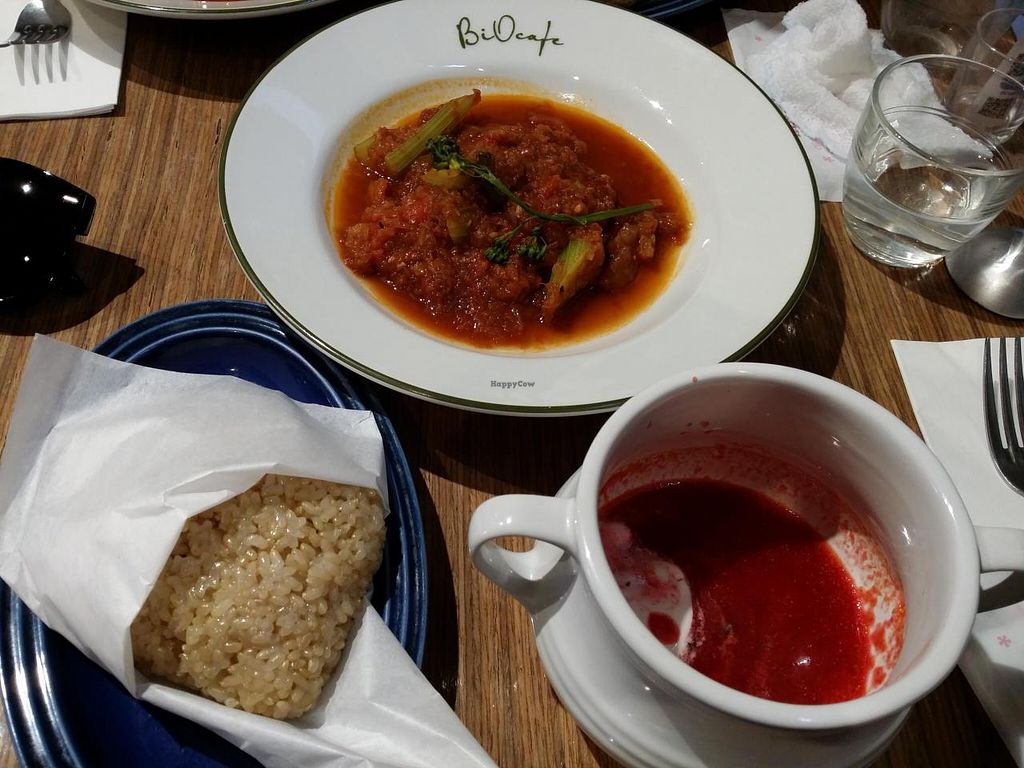 """Photo of Bio Cafe  by <a href=""""/members/profile/poopixie"""">poopixie</a> <br/>lunch set <br/> May 4, 2014  - <a href='/contact/abuse/image/40751/69319'>Report</a>"""