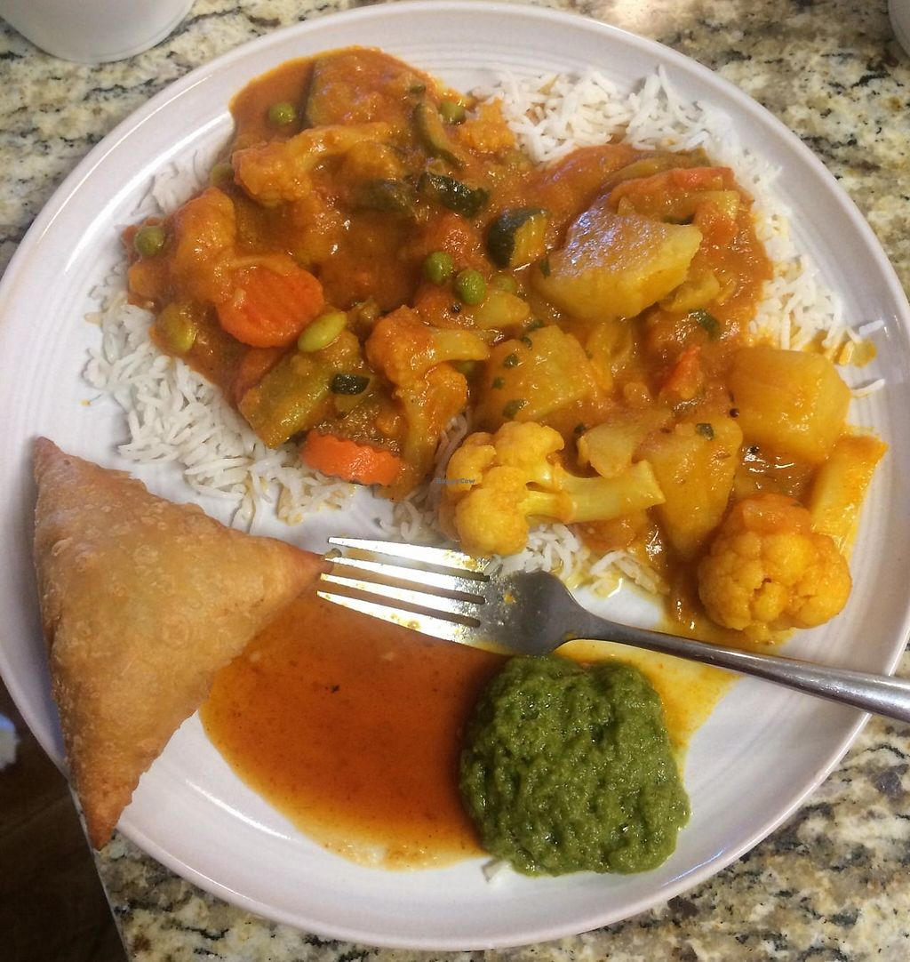 """Photo of India Palace  by <a href=""""/members/profile/Meggie%20and%20Ben"""">Meggie and Ben</a> <br/>Take-out <br/> August 22, 2014  - <a href='/contact/abuse/image/40788/230550'>Report</a>"""