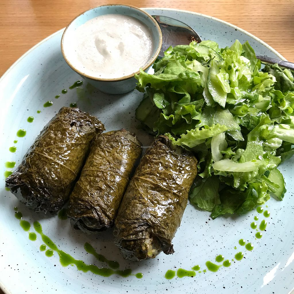 "Photo of Soul Kitchen  by <a href=""/members/profile/earthville"">earthville</a> <br/>Stuffed grape leaves special <br/> September 27, 2017  - <a href='/contact/abuse/image/40791/309088'>Report</a>"
