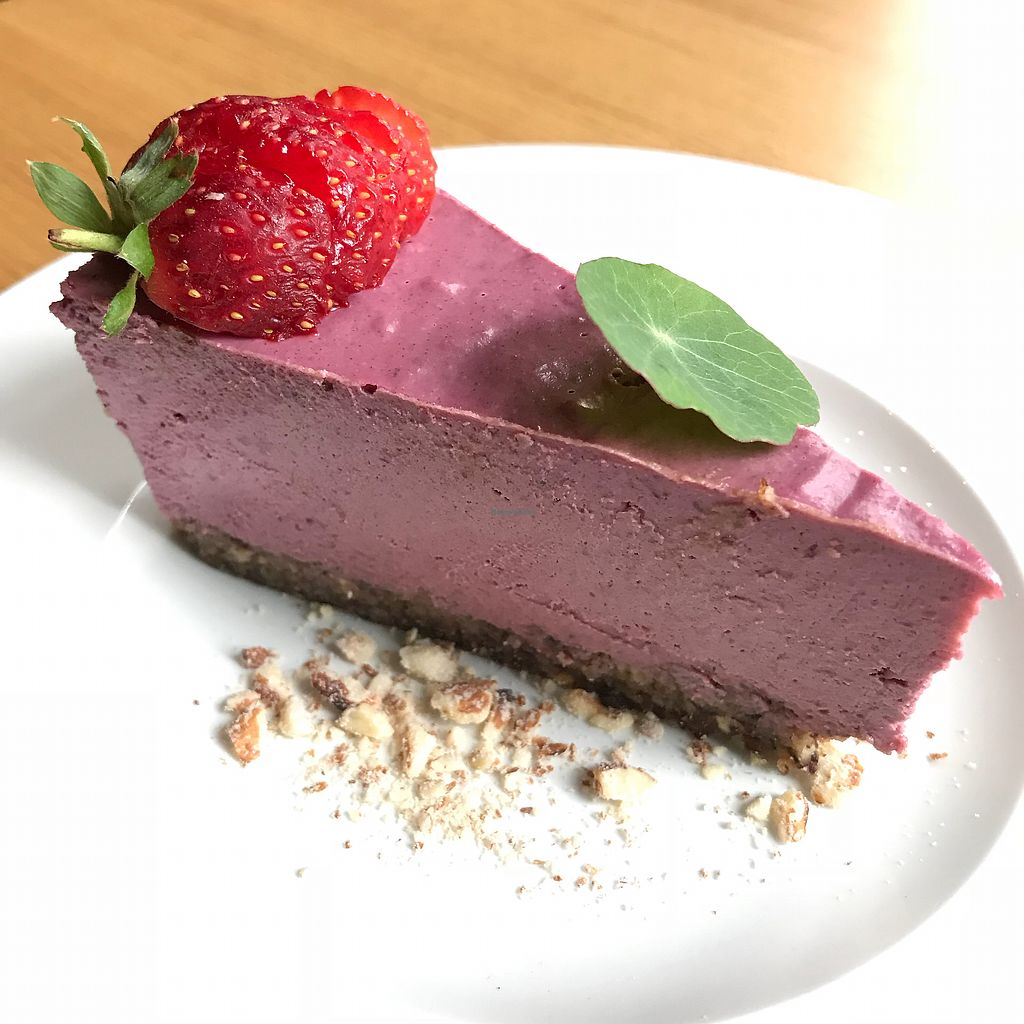 "Photo of Soul Kitchen  by <a href=""/members/profile/earthville"">earthville</a> <br/>Berry mousse cake <br/> September 27, 2017  - <a href='/contact/abuse/image/40791/309089'>Report</a>"