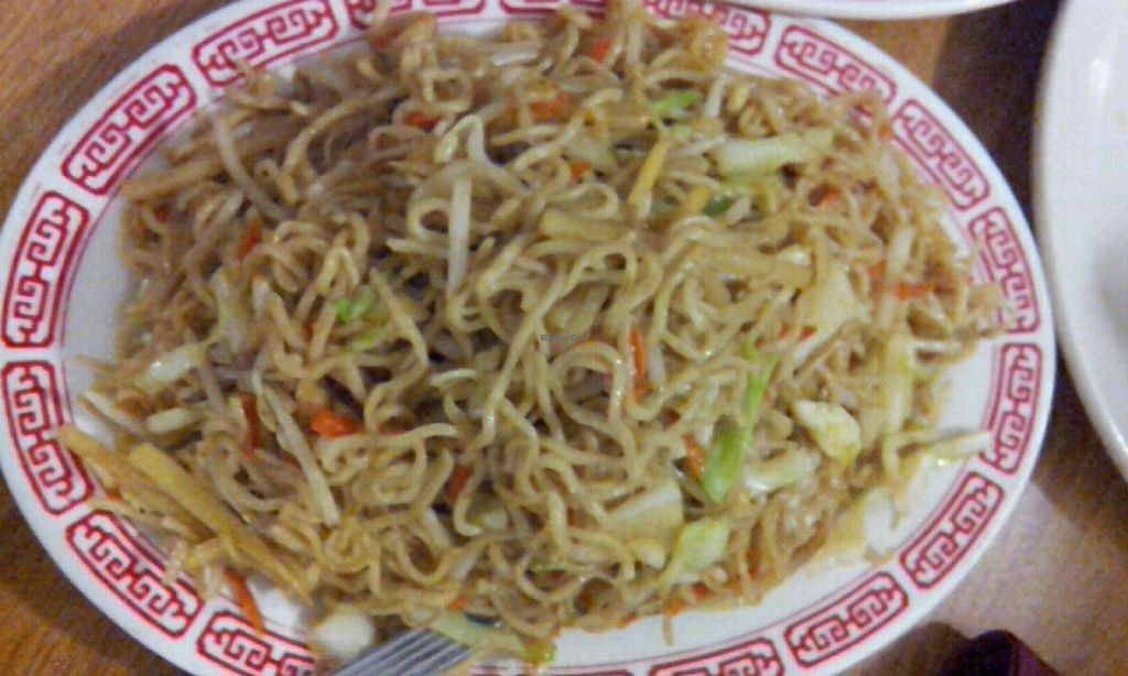 Photo of Long Life Vegi House  by Navegante <br/>Veg chow mein <br/> May 22, 2014  - <a href='/contact/abuse/image/4080/70448'>Report</a>