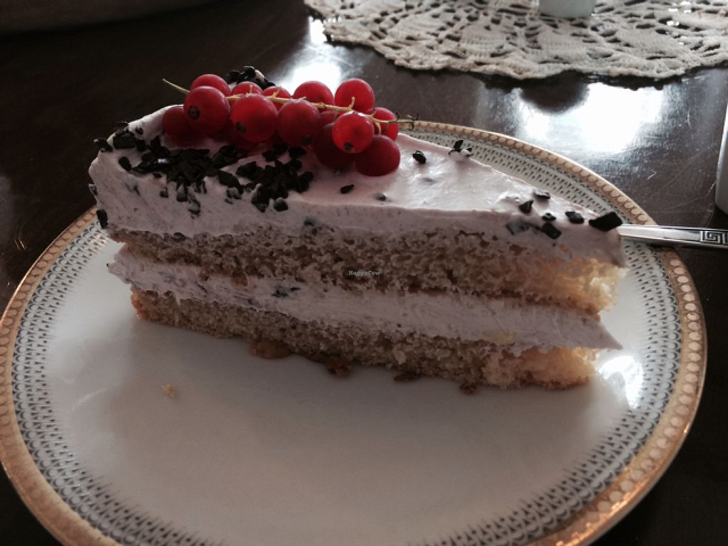 "Photo of V-Cake Cafe  by <a href=""/members/profile/annabazoo"">annabazoo</a> <br/>vanilla cake with cream and currants  <br/> August 8, 2015  - <a href='/contact/abuse/image/40824/112678'>Report</a>"