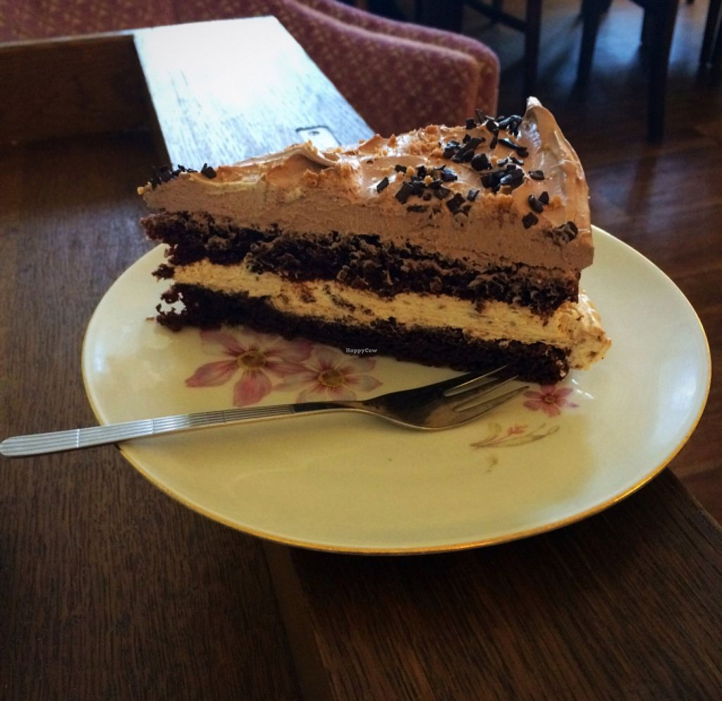 "Photo of V-Cake Cafe  by <a href=""/members/profile/annabazoo"">annabazoo</a> <br/>chocolate Spekulatius cake  <br/> December 16, 2015  - <a href='/contact/abuse/image/40824/128681'>Report</a>"