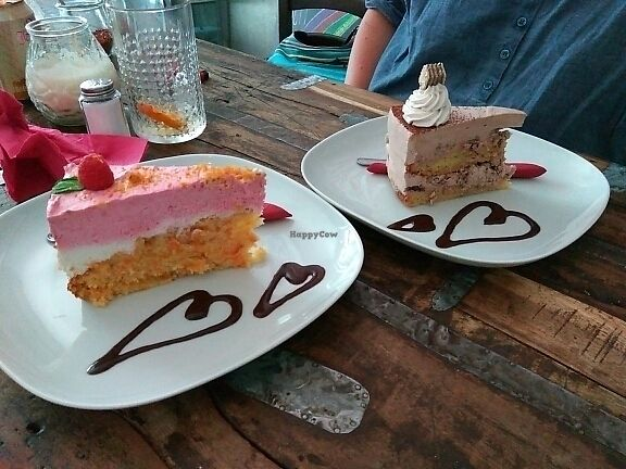 "Photo of Chaostheorie  by <a href=""/members/profile/Miggi"">Miggi</a> <br/>Raspberry yogurt cake and hazelnut wafer cake <br/> June 11, 2017  - <a href='/contact/abuse/image/40825/267967'>Report</a>"