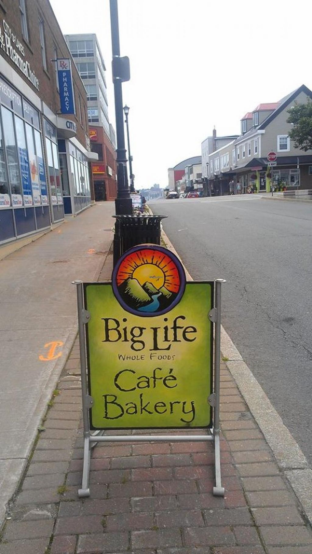 """Photo of Big Life Whole Foods Bakery  by <a href=""""/members/profile/QuothTheRaven"""">QuothTheRaven</a> <br/>Street sign <br/> August 3, 2014  - <a href='/contact/abuse/image/40832/75878'>Report</a>"""