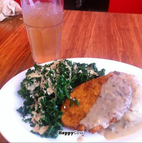 """Photo of Veggie Grill  by <a href=""""/members/profile/Silent8176"""">Silent8176</a> <br/>crispy chickin plate <br/> September 1, 2013  - <a href='/contact/abuse/image/40894/54151'>Report</a>"""