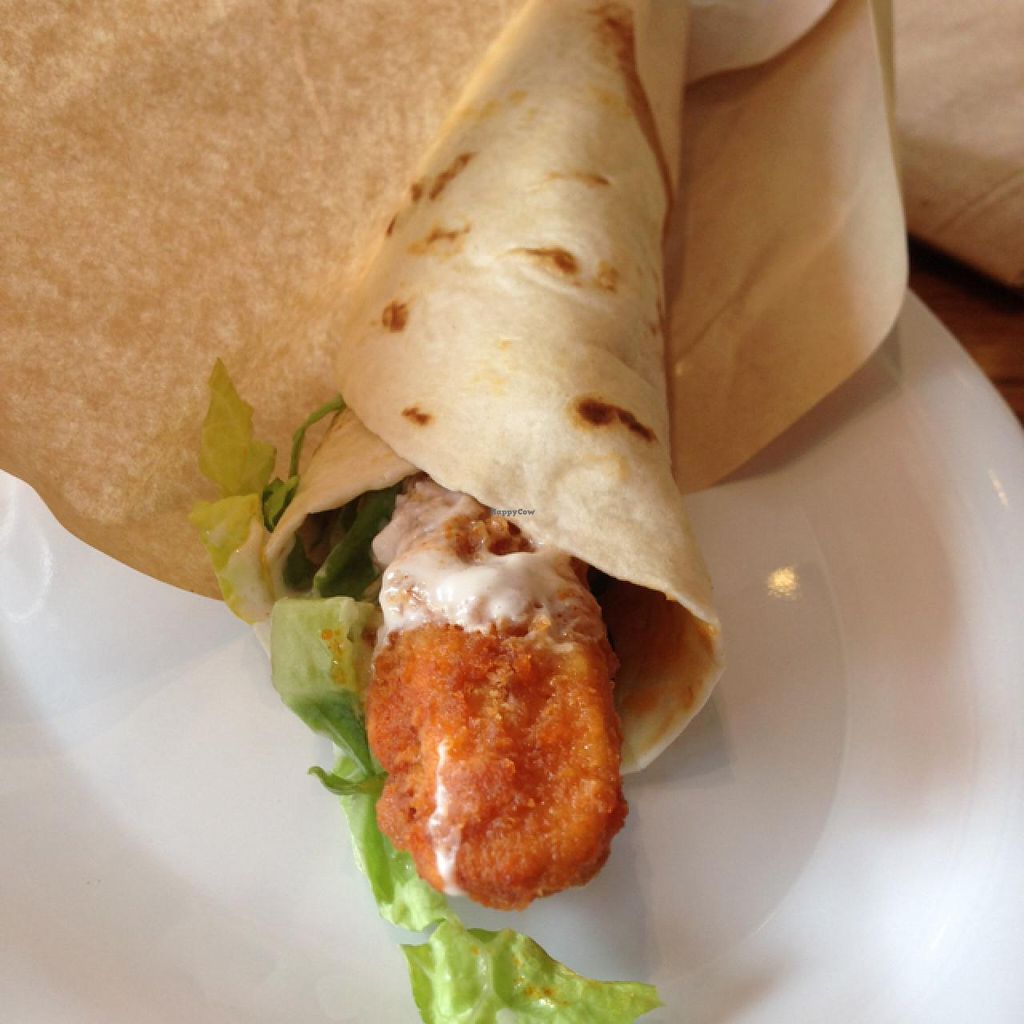 Photo of Veggie Grill  by claya <br/>chicken wrap  <br/> February 6, 2014  - <a href='/contact/abuse/image/40894/63839'>Report</a>