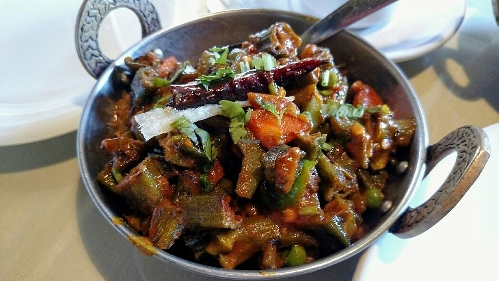 """Photo of Pakwan  by <a href=""""/members/profile/AmyFord"""">AmyFord</a> <br/>delicious vegan bind masala <br/> April 4, 2017  - <a href='/contact/abuse/image/40908/244808'>Report</a>"""