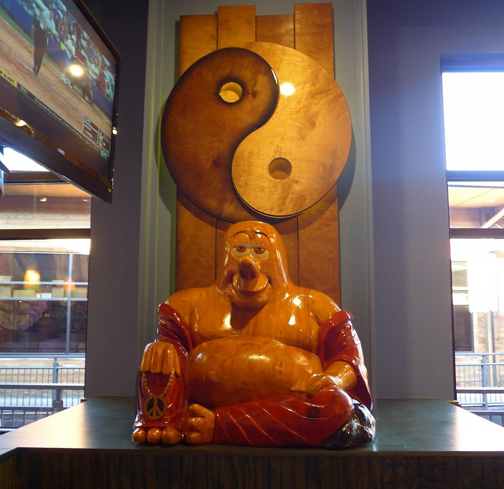 "Photo of Mellow Mushroom  by <a href=""/members/profile/karl8704"">karl8704</a> <br/>The hippie theme comes complete with a smiling Buddha <br/> April 27, 2016  - <a href='/contact/abuse/image/40919/224727'>Report</a>"