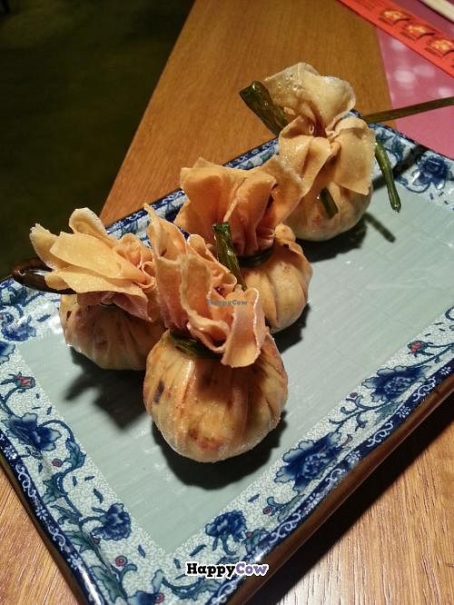 "Photo of Out of China  by <a href=""/members/profile/Harp"">Harp</a> <br/>Crispy dumplings with vegetables <br/> September 5, 2013  - <a href='/contact/abuse/image/40938/54409'>Report</a>"